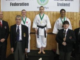 Regina Számedli (1st place U18 kata)