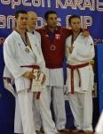 EurĂłpai Bajnokok KupĂĄja - PĂŠnzes TamĂĄs - kumite 3. helyezett