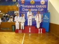 EurĂłpai Bajnokok KupĂĄja - RadnĂłti ViktĂłria - Kumite - Best of the Bests 3. helyezett