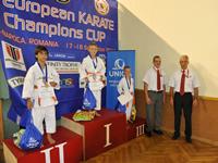 EurĂłpai Bajnokok KupĂĄja - Strohmayer TamĂĄs - Kata 3. helyezett