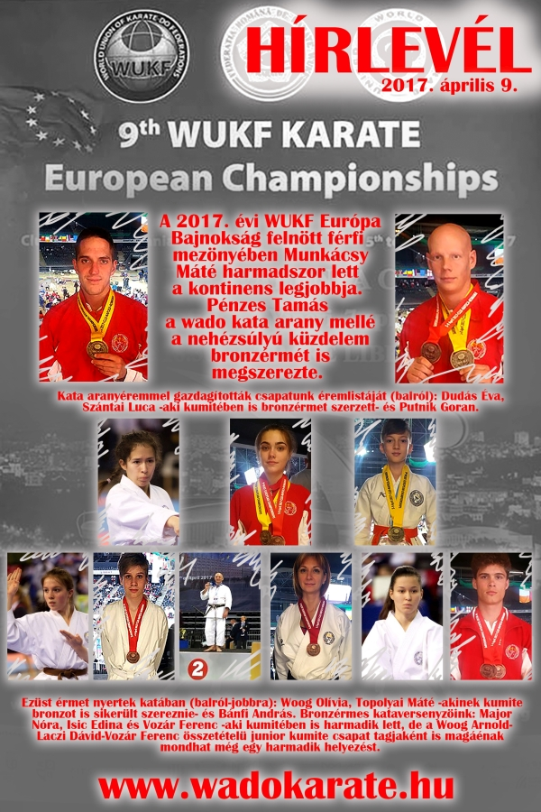 9. WUKF Karate EurĂłpa-bajnoksĂĄg