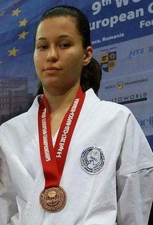 Isic Edina - 9. WUKF Karate EurĂłpa-bajnoksĂĄg