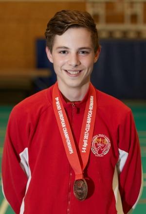 Laczi Dávid - 9. WUKF Karate Európa-bajnokság