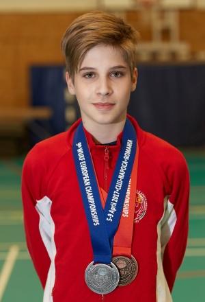 Topolyai MĂĄtĂŠ - 9. WUKF Karate EurĂłpa-bajnoksĂĄg