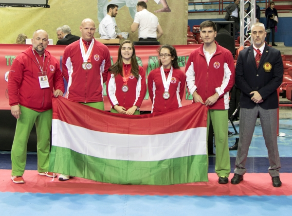 Magyar Wado-ryu válogaott az UWK VB-n