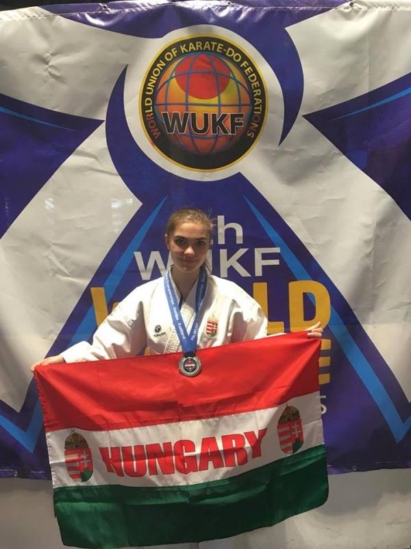 Szántai Luca - WUKF Karate Világbajnoki ezüstérmes