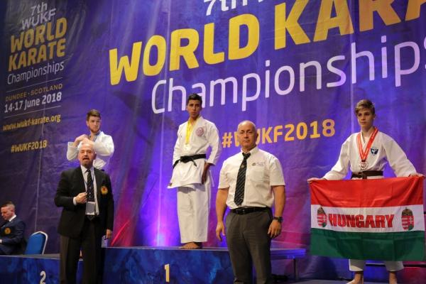 Topolyai Máté - Kata világbajnoki bronzérmes