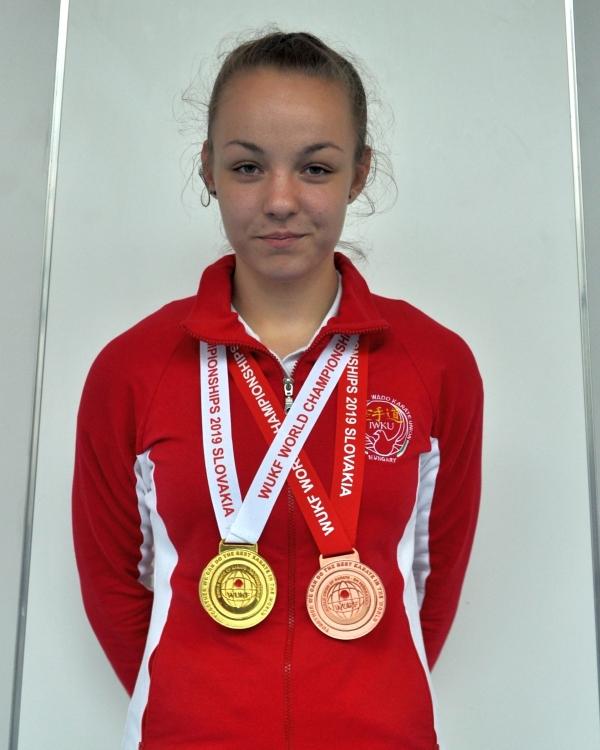 Szekrényesi Lili - WUKF Karate Világbajnok