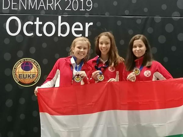 Dodok Máté - Európa-bajnoki bronzérmes