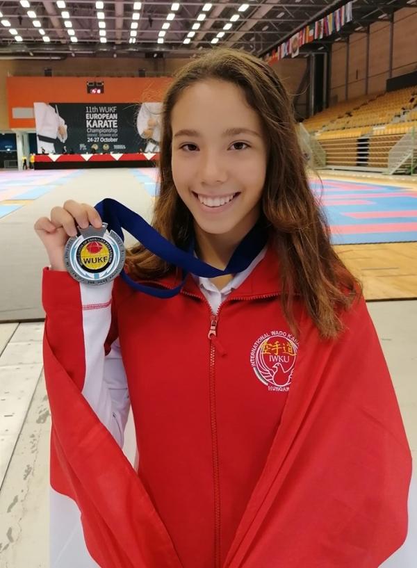 Rostás Csenge - Európa-bajnoki ezüstérmes